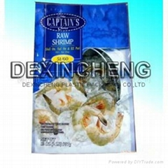 Sea food vacuum bag