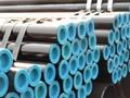 Seamless steel tube pipe API 5L GrB  A106B  A53B