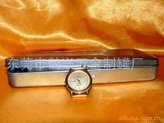 Tin watch box