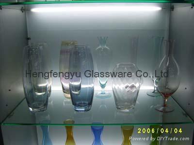 color Glass vase 2