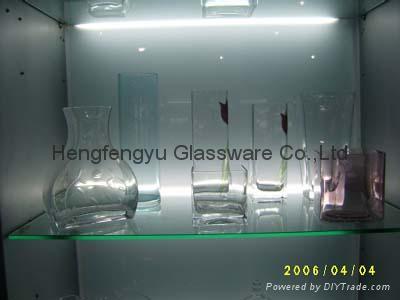 color Glass vase 4