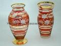 color Glass vase 5