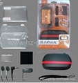 PSP GO 8in1 value packs,protect cover,car charger,ac adapter,card case,speaker