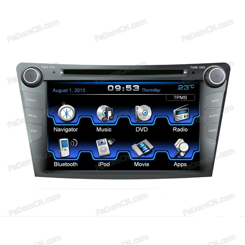 Car DVD GPS for Hyundai i40(I7109HI)