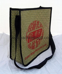 Straw promotional bags