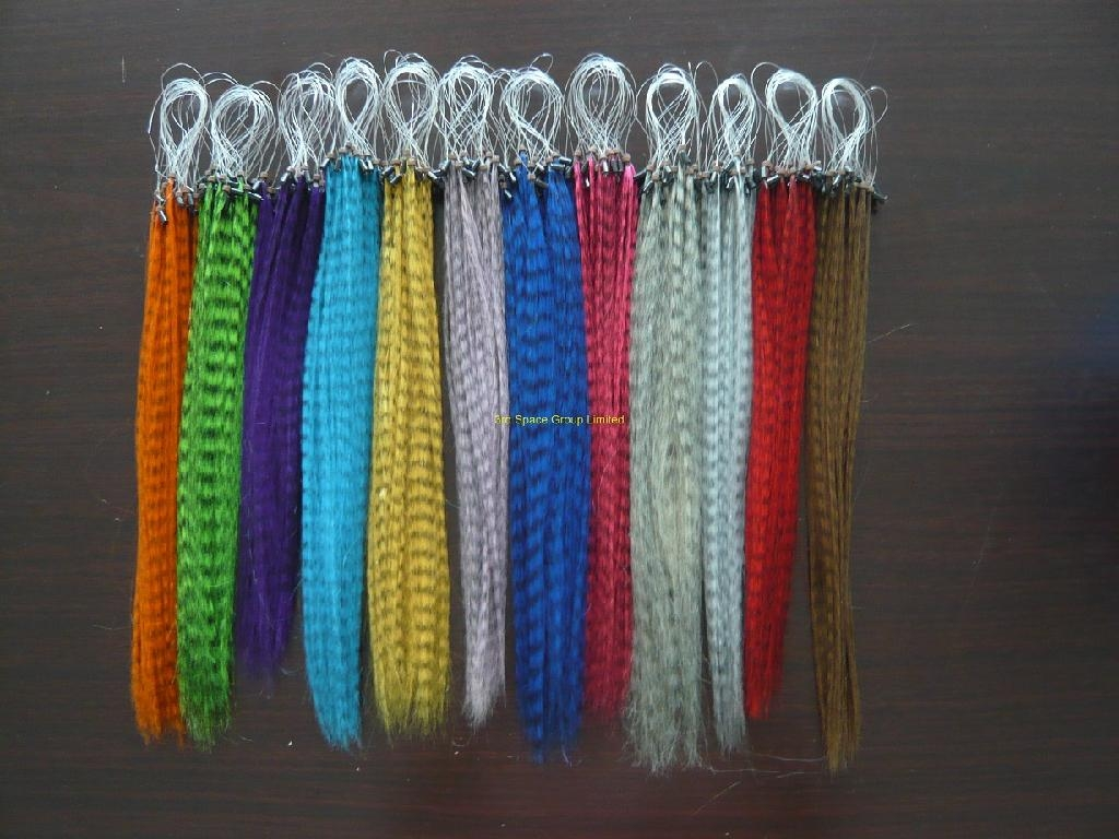 Feather grizzly hair extension 16 china manufacturer for Where can i buy feathers for crafts