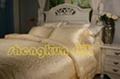 Mulberry silk bedsheet set