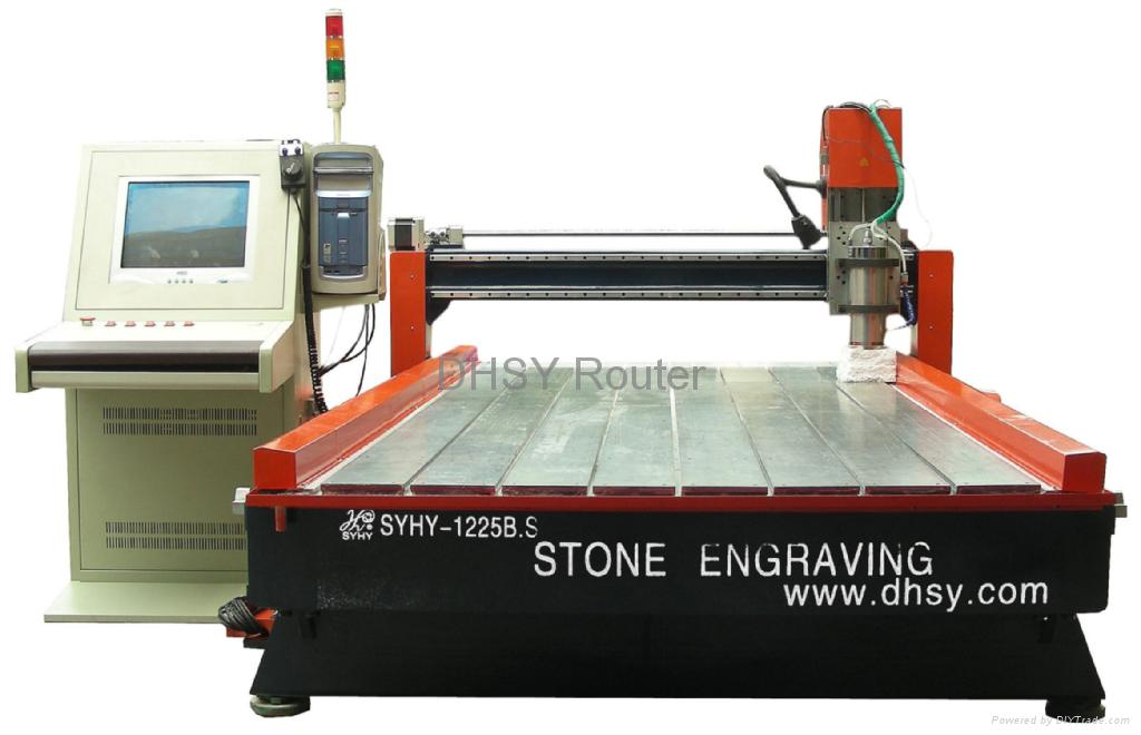 cnc stone router stone engraving machines china manufacturer. Black Bedroom Furniture Sets. Home Design Ideas