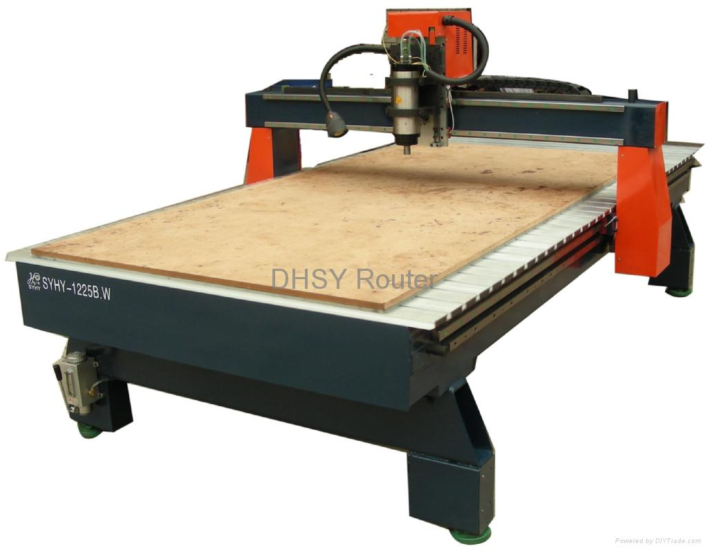 cnc machine wood