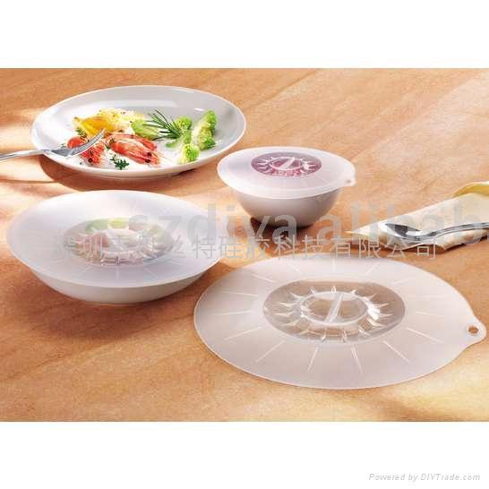 硅膠碗蓋 3