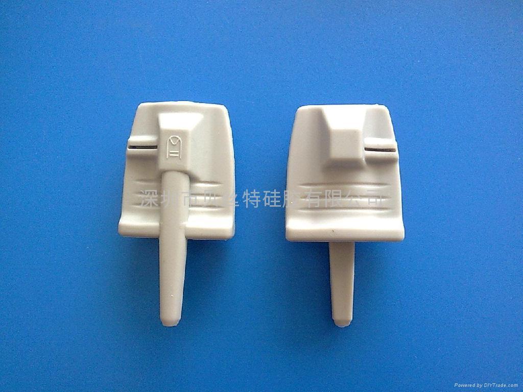 硅膠醫療器械配件-硅膠成人(儿童)軟指套 1
