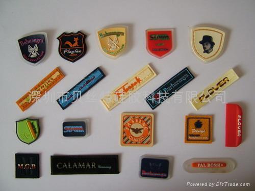 PVC/硅膠商標 2