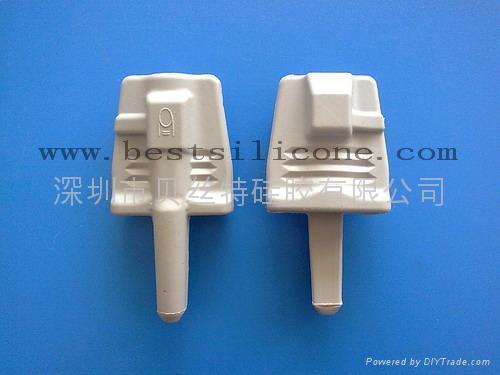 硅膠醫療器械配件-硅膠成人(儿童)軟指套 4