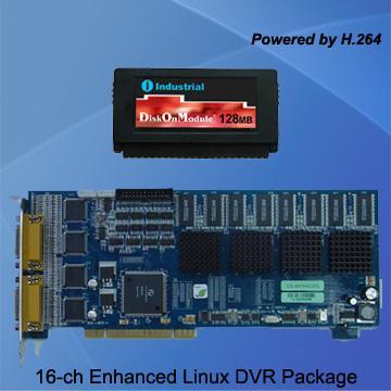 Linux DVR software on DOM flash disk  - E2132C - Linovision