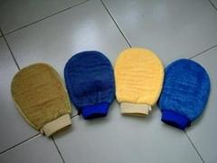 microfiber & mcirofibre Cleaning glove