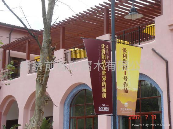 江阴阳台木廊架 3