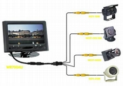 7 INCH LCD MONITOR 4 VIDEO INPUT