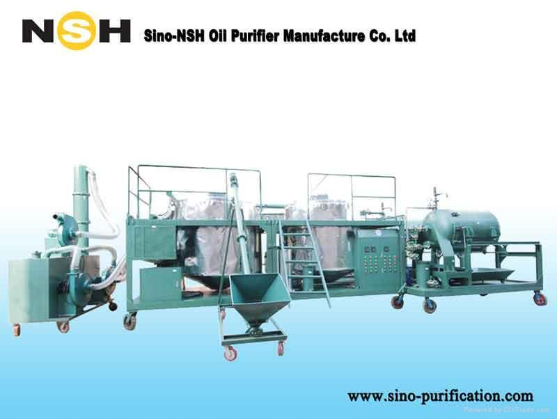 SINO-NSH GER Engine Oil Purification Plant 1