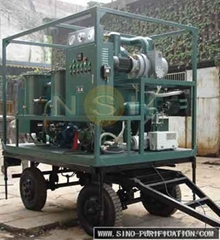 SINO-NSH VFD Insulation Oil Purifier Machine