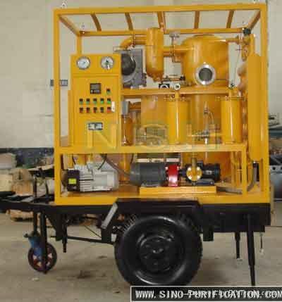 Sino-nsh VFD Used transformer oil treatment Equipment 1