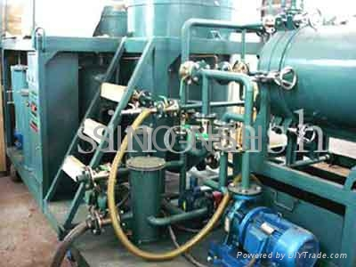 Used Motor Oil purifier plant 1