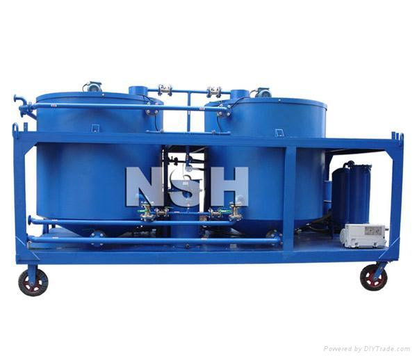GER used motor oil purifier system 1