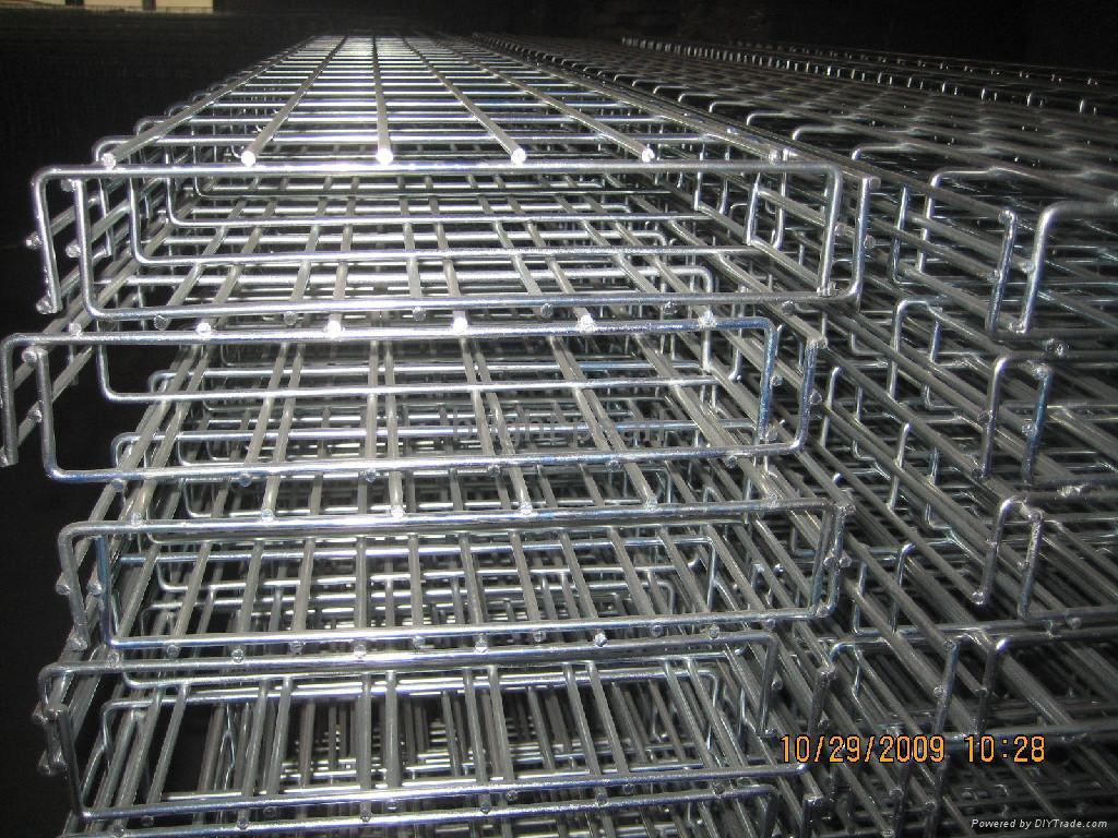 Wire mesh cable tray bright pearl china
