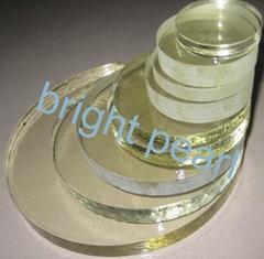 tempered (toughened) borosilicate round glass