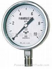 不鏽鋼膜合壓力表
