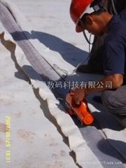出口型熱鍥式雙軌土工膜焊接機