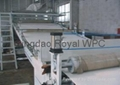 PVC WPC(foam) Door panel/decoration plate extrusion line