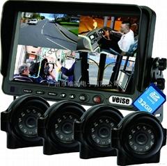4畫面分割車載監控系統