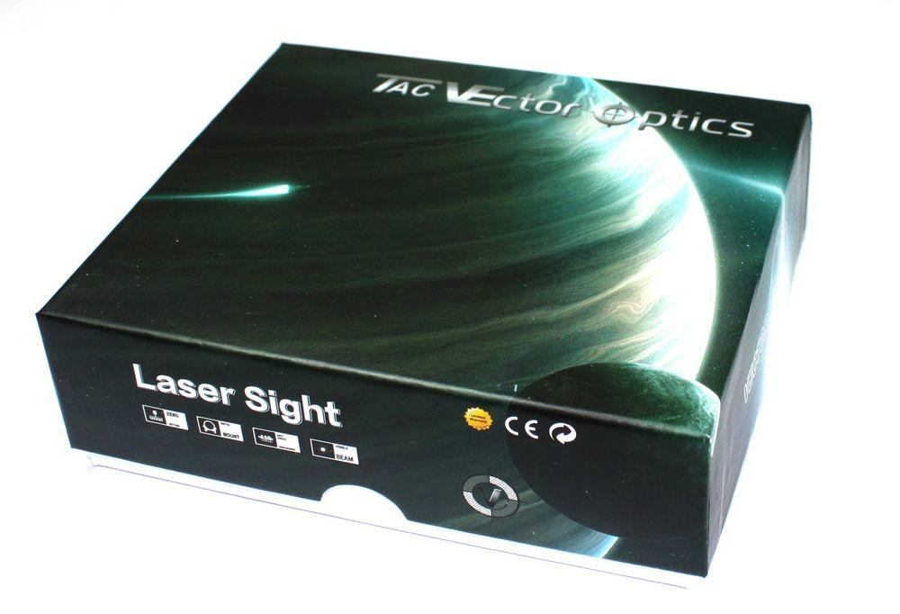 Vector Optics Blackout Visible Beam Green Laser Sight Pointer 100mV Higher Power 5