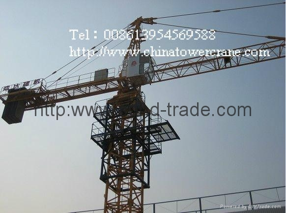 Tower crane qtz 125 : Qtz f tower crane tielishi china manufacturer