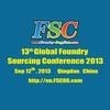 13th Global Foundry Sourcing Conference 2013