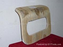 plywood armrest