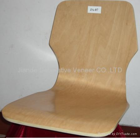 curved plywood chair shell ja 07 china manufacturer office