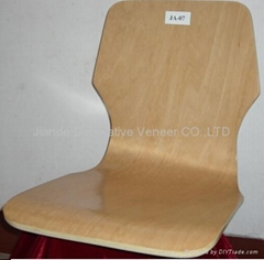 curved plywood chair shell