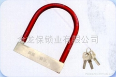 Bicycle lock motorcycle lock electric lock