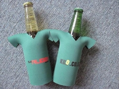 Neoprene T-Shirt Bottle Cooler