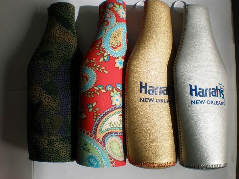 Neoprene Can Cooler For Fabric ~ Neoprene bottle suit holder cooler carrier can