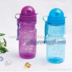 550ml travel Sports water bottle-AS material