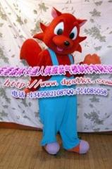 狐狸卡通服装