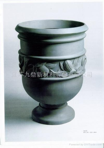 本公司生产的欧式风格玻璃钢花盆