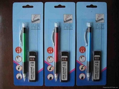 Automatic Mechanical Pencil Set With Refillable Lead