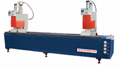 Welding PVC window machine