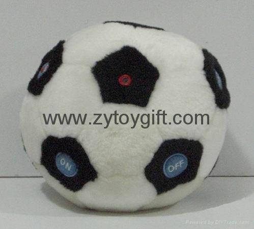 Football toy with radio function 1