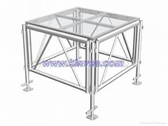 SG003鋁質玻璃舞臺