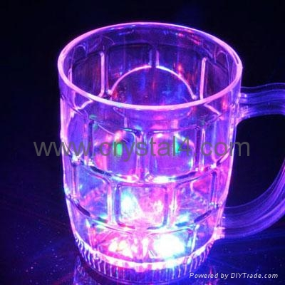 500ml LED flash beer cup