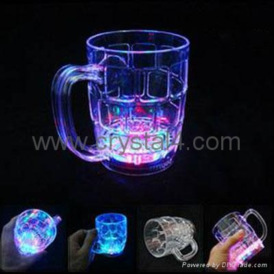 500ml LED flash beer cup 3